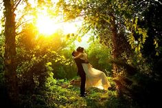 forest wedding by vivian