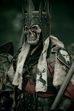 Skull Knight of Corpsedale,Untotes Fleish (Undead Flesh) at the ConQuest of Mythodea  (source: Paddy Mac on the ConQuest of Mythodea facebook page)