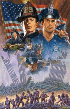 Beautiful drawing portraying the First Responders who lost their lives during the terrorist attacks of September Beautiful Drawings, Beautiful Cats, Freedom Of Speech Quotes, 911 Never Forget, Remembering September 11th, Firefighter Pictures, 1st Responders, Somewhere In Time, Volunteer Firefighter