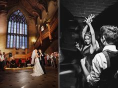 First dance in the Great Hall.  Wedding photography at Matfen Hall by 2tone Photography. www.2tonephotography.co.uk