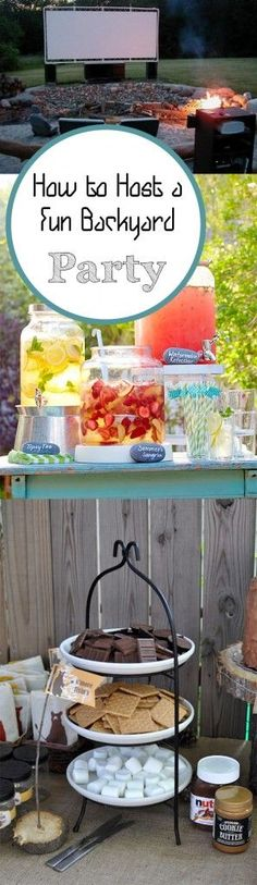 How to Host a Fun Backyard Party. Summer, summer hacks, pool hacks, pool party ideas, Fourth of July, summer holiday
