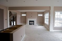 Craftsman Interior | Week 12: Brick, paint, and a closing date! | The Rogers Build a House ...