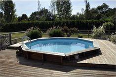 Piscine en bois palmyra 6 13 x 4 05m piscine castorama prix piscine en bois l - Piscine en dur pas cher ...