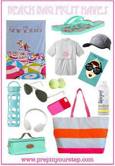 Beach Bag Must Haves {Packing the Perfect Beach Bag}