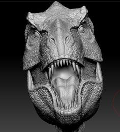 Blue Jurassic World, Jurassic World Dinosaurs, Dinosaur Images, Dinosaur Art, Dino Drawing, Jurassic Park Raptor, Dragon Anatomy, Zbrush Character, Alien Concept Art