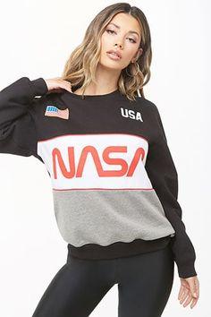 c361ea78d3d NASA Graphic Sweatshirt. Nasa ClothesSki SweaterCrew NeckForever 21Graphic  ...