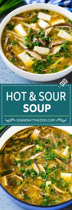 Hot and Sour Soup Hot and Sour Soup Recipe Chinese Soup Recipe Chinese Soup Recipes, Best Soup Recipes, Healthy Soup Recipes, Simple Soup Recipes, Asian Tofu Recipes, Cooking Recipes, Chili Recipes, Recipes Dinner, Cooking Time