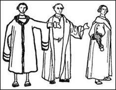 Mens Long Coats - Henry VIII 1509-1547