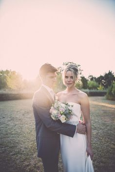Julia and Gustavo | Dress: Sarah Janks from Lovely NYC | Photography: La Paire De Cerises