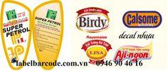 dịch vụ in tem nhãn mã vạch decal  nhựa PVC chất lượng giá cạnh tranh nhất