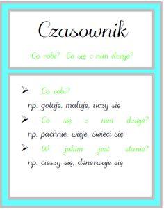 Plansze część 2 Polish Language, Growth Mindset, Grammar, Back To School, Homeschool, Teaching, Education, Bullet Journal, Blog