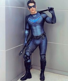 UnSeitled — skinrol: superhero in ballet Nightwing Cosplay, Nightwing Costumes, Male Cosplay, Best Cosplay, Robin Cosplay, Anime Cosplay, Cosplay Costumes, Mens Leotard, Brave