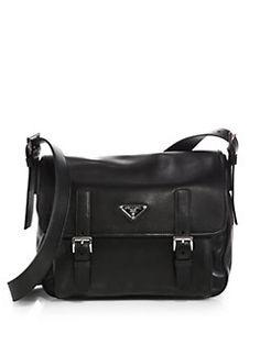 Prada - Soft Calf Messenger Bag