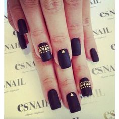 Fall 2014 Nail Trend Matte Nails ❤ liked on Polyvore featuring beauty products, nail care, nail treatments and nails