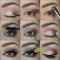 12 eyeliner varianten make up make up tricks and eyeliner. Black Bedroom Furniture Sets. Home Design Ideas