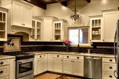 Kitchen Cabinets Review | Dayton Painted Linen CliqStudios