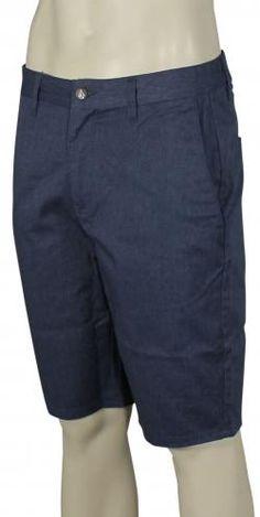 Volcom Frickin' Modern Stretch Walk Shorts - Sea Navy
