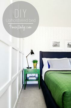 DIY Upholstered Wing