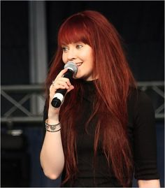 Johanna kurkela, a singer from Finland. She's got a beautiful voice!