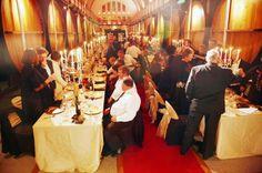 "Middag för Cape Wine Masters i ""The Cathedral Cellar"""