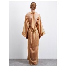 Our 'Raymonda' Kaftan in Golden Sand fine Swiss cotton mousseline, from our Autumn Winter 2016 collection, coming soon... Photography by Dan Smith, London. See the collection at www.threegraceslondon.com Experience the collection at Selfridges & Matches #threegracesldn #threegraceslondon #luxurylingerie #nightwear #lingerie #fashiondesign #designedingreatbritain #classic #vintagestyle #timeless #luxury