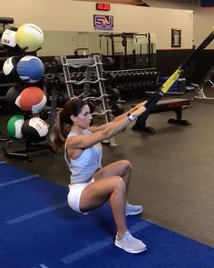 "14.9k Likes, 142 Comments - Alexia Clark (@alexia_clark) on Instagram: ""TRX WERK 1. 8 reps each leg 2. 15 each side 3. 12 each side 4. 15 reps 3-5 rounds…"""