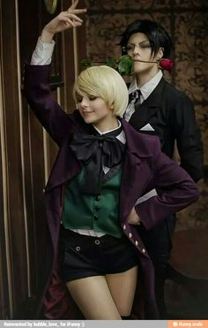 I'm cosplaying as Alois next year, I'm so excited~!!