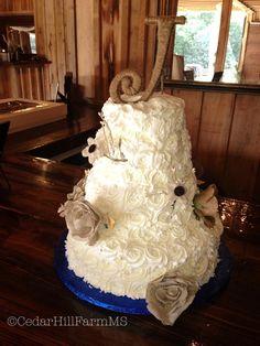 Wedding Cake - Cedar Hill Farm - Hernando, MS