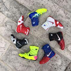 Tenemos zapatos de boxeo y lucha de varias marcas Nike, Adidas y Everlast. Si estas buscando guantes de boxeo en el sur de la Florida visita una de nuestras tiendas. En Downtown Miami o Fort Lauderdale cerca del casino hardrock en hollywood. #nikeboxing #boxingshoes #zapatosdeboxeo #adidasboxing #hyperko #nikeshoes