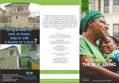 Real estate flyer design outer