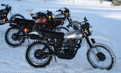 Yamaha XT500 -    ADVrider