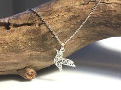 Naszyjnik srebrny koliber  - LuxoroDesign - Naszyjniki srebrne