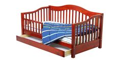 Dream On Me Toddler Day Bed in Cherry