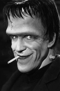 """July 10, 1926 On this day in Horror History, Fred Gwynne was born. Gwynne would give cinema and television many of beloved roles starring in such films as The Cotton Club (1984), Ironweed (1987), Disorganized Crime (1989) and Pet Sematary (1989). After a long battle with cancer, Gwynne passed away in Taneytown, Maryland on July 2, 1993. He will forever be remembered and loved for the talent that helped bring Herman Munster into the hearts and memories of families worldwide.   """"Funny thing…"""