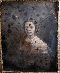 Mists of Time | A time worn 1/6 plate daguerreotype