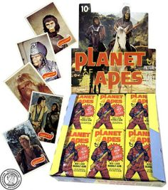 Planet Of The Apes Trading Cards