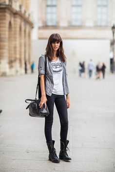 25 Kick-Ass Ways to Style Combat Boots ThisFall   StyleCaster