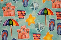 Scrapbook Paper 12 x 12 Vacation, Travel & Destination Theme Scrapbook Paper