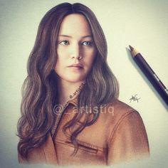 Katniss Everdeen fan art!!