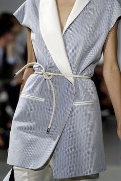3.1 Phillip Lim Spring 2015 Ready-to-Wear - Details - Gallery - Look 1 - Style.com