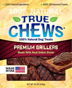 True Chews Premium Grillers Dog Treats, Steak, 12 Ounce -- Be sure to check out this awesome product.