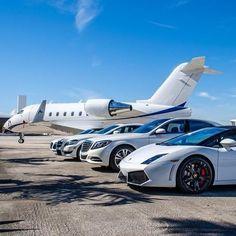 Audi, Mercedes-Benz, Bentley Lamborghini & Private Jet
