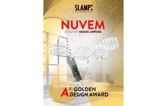 Slamp | Nuvem wins the 2020 Golden A' Design Award – 28 May 2020