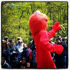 Elmo 4 Miss Robin Daff fest