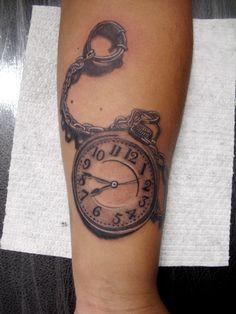 #Reloj #tattoo #ink #Diegotattoo