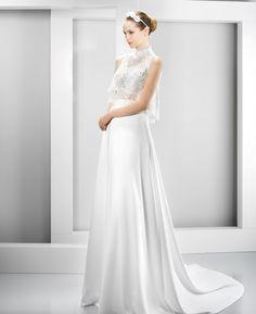 Vestido novia Jesús Peiró Ref.6040