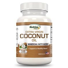 Natural Coconut Oil, Extra Virgin Coconut Oil, Organic Coconut Oil, Organic Oil, Coconut Oil Pills, Coconut Oil Capsules, Homemade Skin Care, Nutrition, Usa