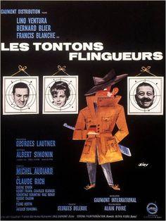 Les tontons flingueurs by Georges Lautner (1963)