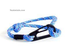 Adjustable bracelet, adjustable bangle, wrist band anchor jewellery <3 www.nadamlada.com <3 #men #menfashion #climbingbracelet #rockclimbingjewelry #forhim