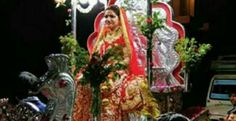 This Rajasthani Bride Makes A Power Statement By Taking Baraat To The Grooms Door   Jiya Sharma 25 had the guts to do something that women in her town wouldn't dare to.  In a bid to set an example for women empowerment Jiya went on a horse cart for her marriage ceremony in Behror town of Alwar district.  A student of MA English literature Jiya mounted a horse cart and took her 'baraat' (marriage procession) to the venue where the groom's family gave her a warm welcome.  Her friends danced…